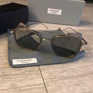 Thom Browne TB-808 Gray Sunglasses! RARE